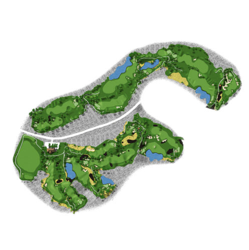 Waikoloa Kings Course Layout